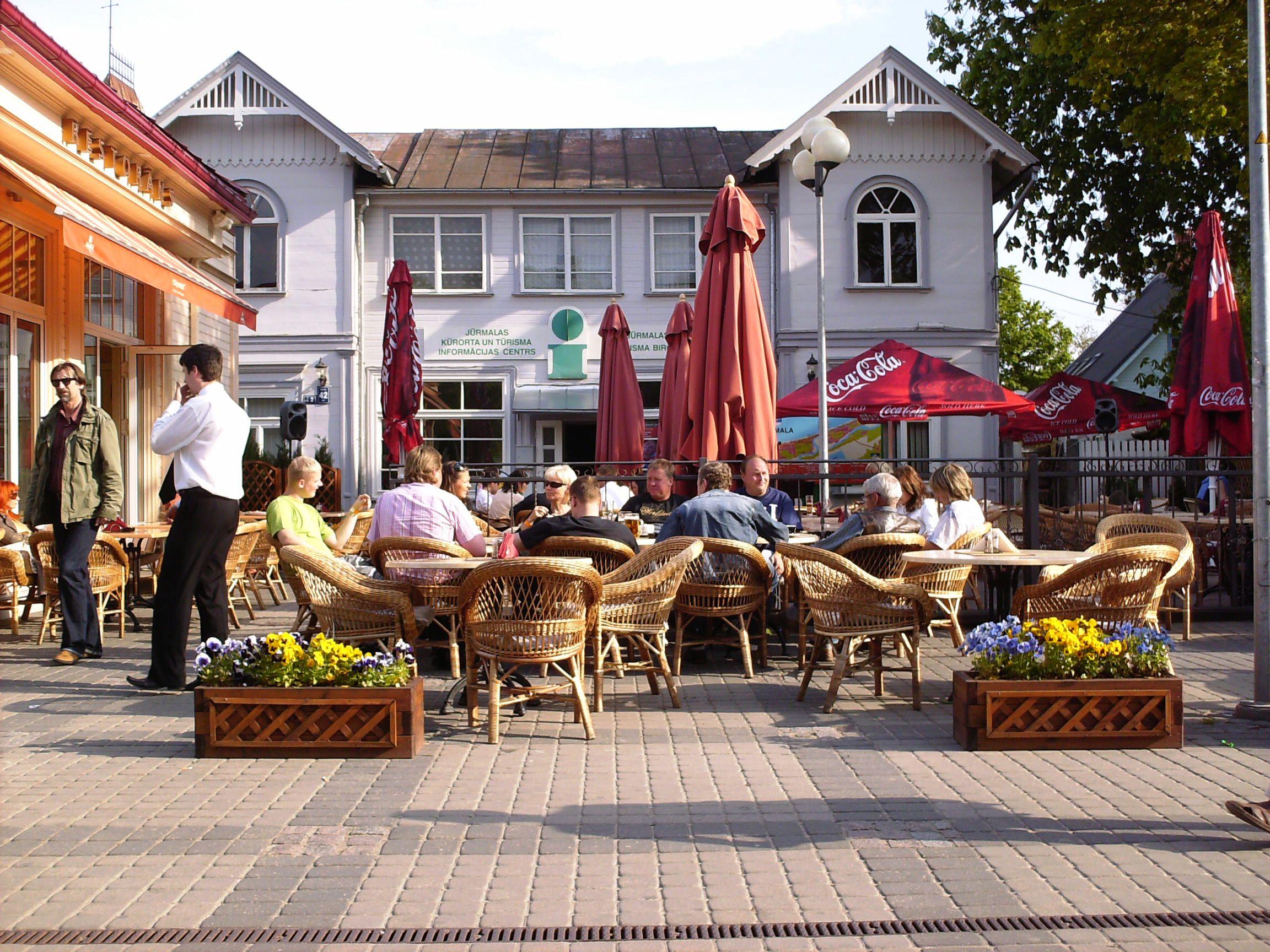 Кафе в Юрмале
